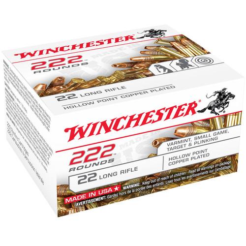 Winchester S&W .22 LR 40 Grain 222 Pack