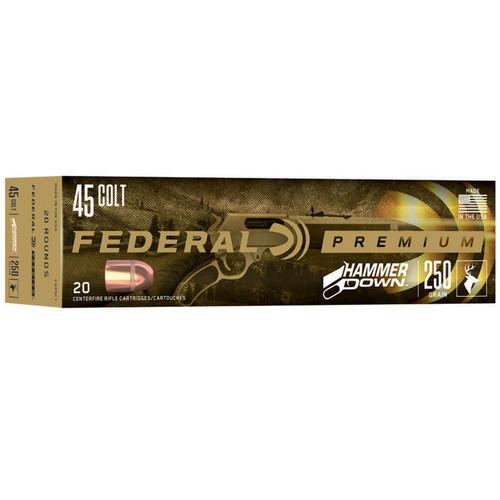 Federal LG45C1 Premium HammerDown 45LC 250 gr 20 Rounds