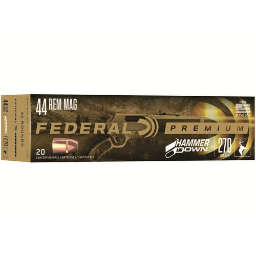 Federal LG441 Premium HammerDown 44 Rem Mag 270 gr 20 Rounds