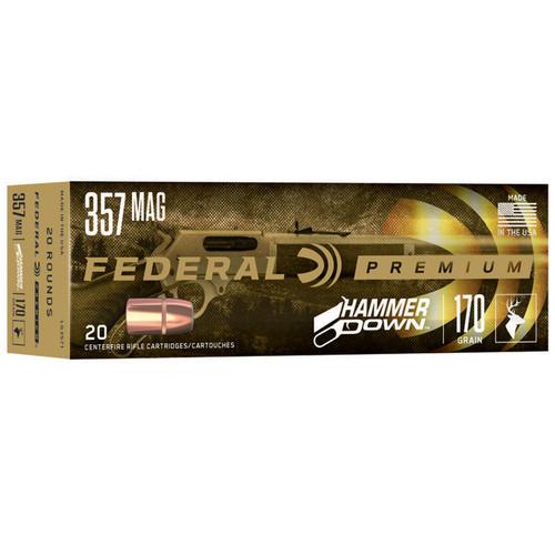 Federal LG3571 Premium HammerDown 357 Mag 170 gr 20 Rounds