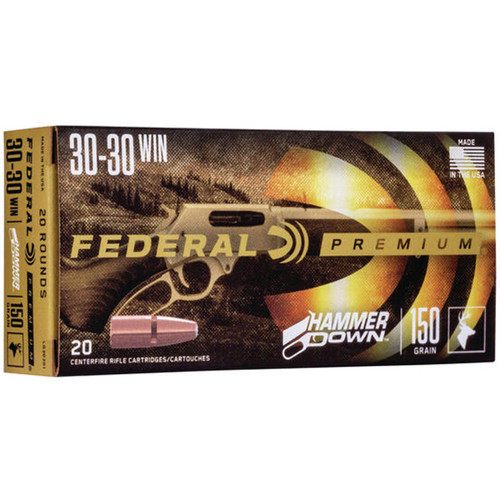 Federal LG30301 Premium HammerDown 30-30 Win 150 gr Bonded SP 20 Rounds