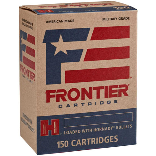 Hornady Frontier Cartridge FR2615 5.56 NATO 62 gr FMJ 150 Rounds