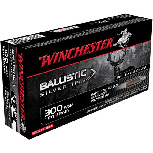 Winchester SBST300SA Ballistic Silvertip 300 WSM 180 gr PT 20 Rounds