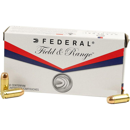 Federal Field & Range FR40180 40 S&W FMJ 50 Rounds