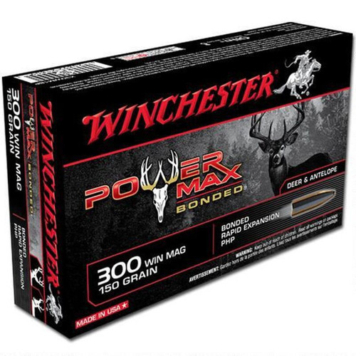 Winchester .300 Winchester Magnum Bonded PHP 150 Grains 20 Rounds