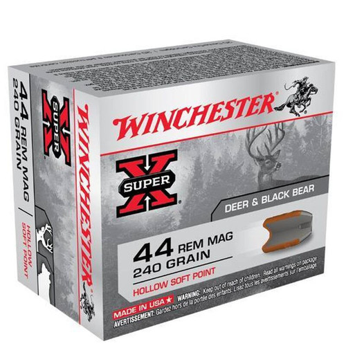 Winchester Super-X .44 Mag 240 Grain HSP 20 Rounds