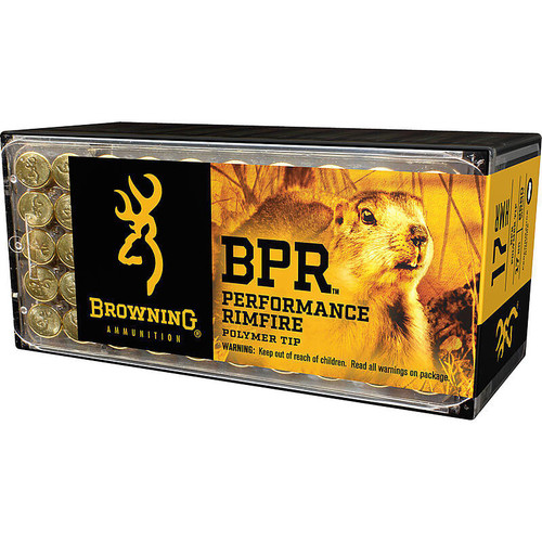 Browning BPR Performance Rimfire Ammunition 50 Rounds