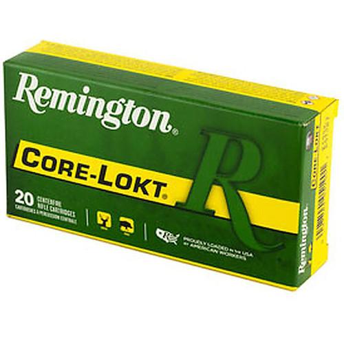 Remington Core-Lokt 243 Winchester 100 Grain Core-Lokt Pointed Soft Point 20 Rounds