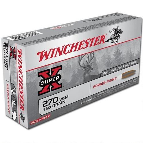 Winchester Super X .270 WSM Ammunition 20 Rounds
