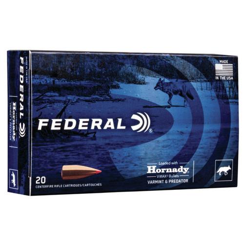 Federal Varmint & Predator 6.5 Creedmoor V-Max 20 Rounds