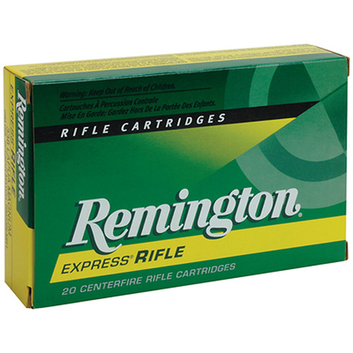 Remington Express Ammunition 220 Swift 50 Grain Pointed Soft Point 20 Rounds