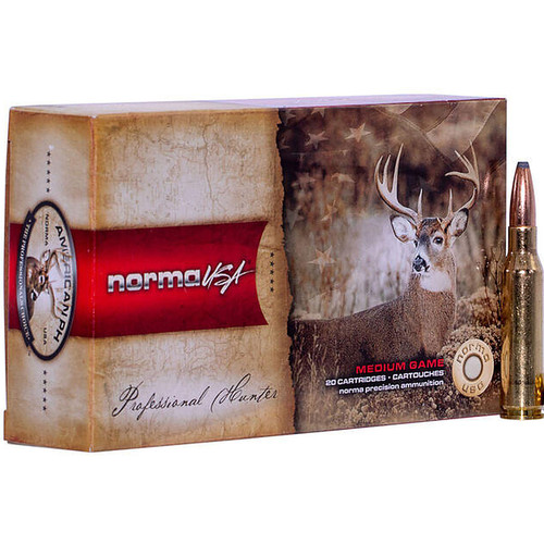 Norma American PH Ammunition 6.5mm Carcano 156 Grain Soft Point 20 Rounds
