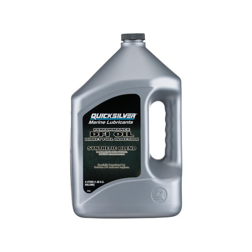 Quicksilver Direct Fuel Injection 2-Cycle Oil 4 Liter