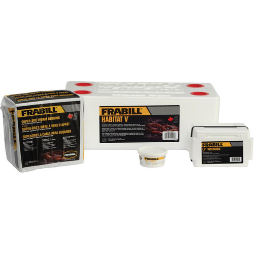 Frabill Habitat Deluxe Worm Storage Kit
