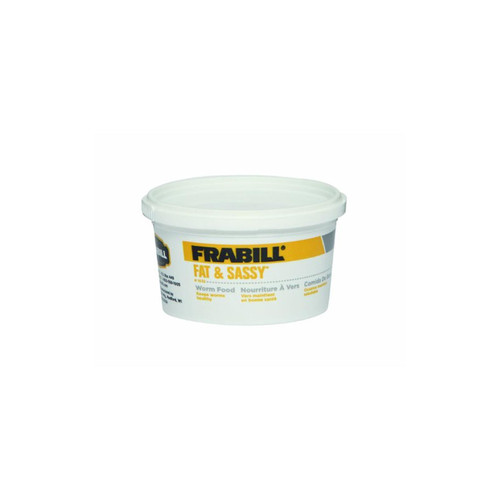 Frabill Fat and Sassy Worm Food 8 oz Cup