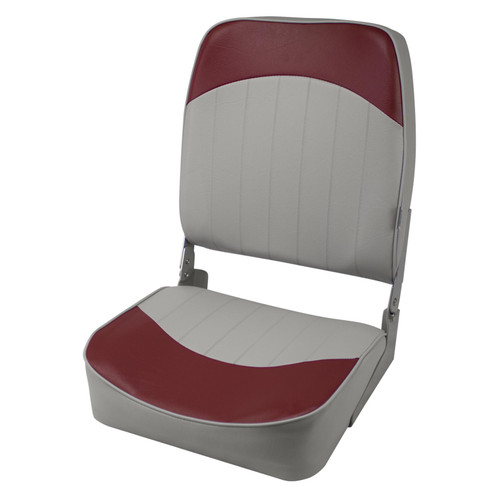 Wise Standard High Back Boat Seat Grey/Red