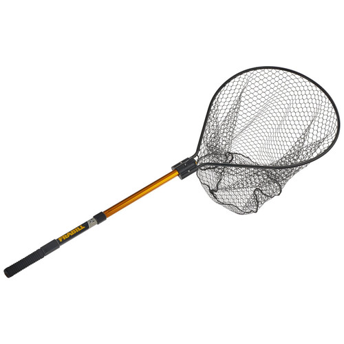 "Frabill Knotless Conservation Net 20""X23"" With 24""-48"" Telescopic Handle"