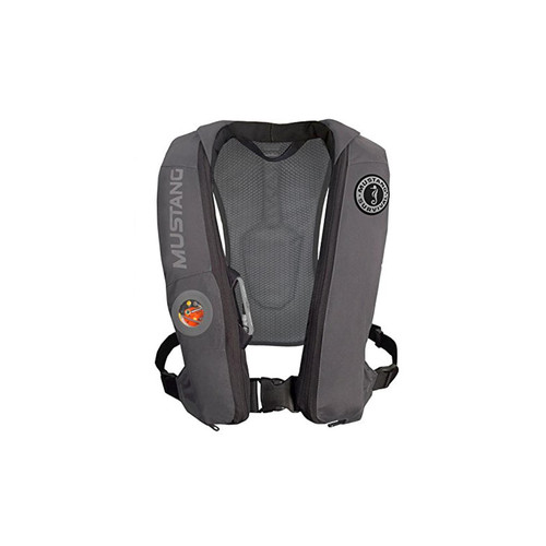 Mustang Survival Corp Elite Inflatable PFD (Auto Hydrostatic) Gray