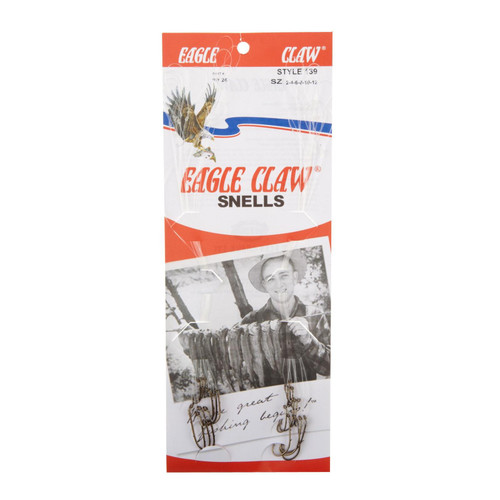 Eagle Claw 24 Piece Snelled Assortment