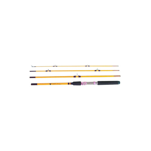 Eagle Claw Packit 4 Piece Spinning Rod 7'6""
