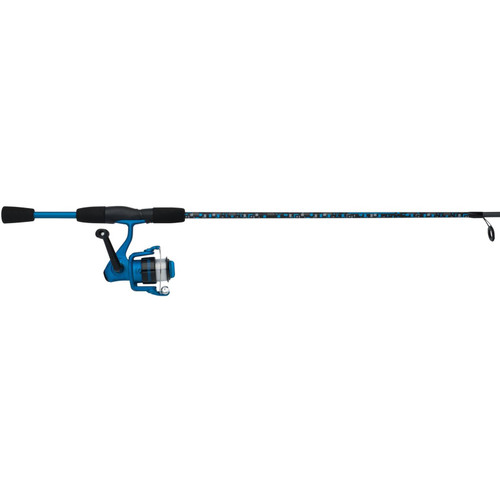 Shakespeare Amphibian Spinning Combo Blue