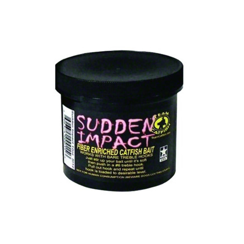 Team Catfish Sudden Impact Fiber Bait 12oz SI12
