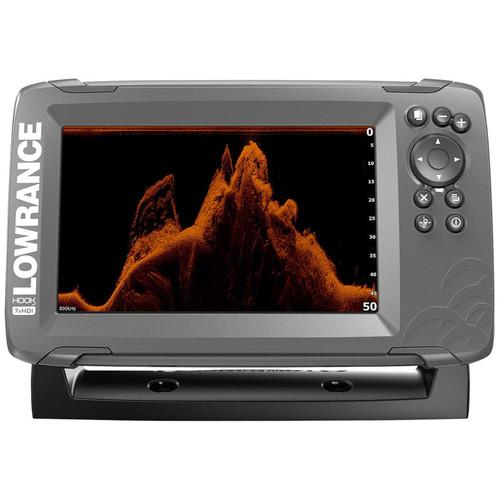 Lowrance Hook2 Sonar 7X GPS SplitShot HDI