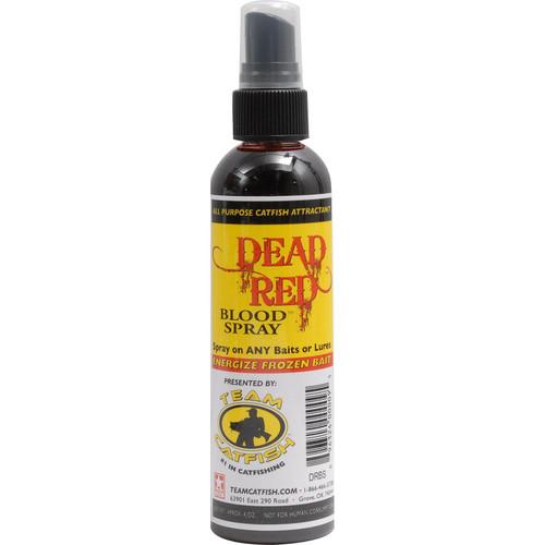 Team Catfish DRBS Dead Blood Spray Bottle Red 4-Ounce