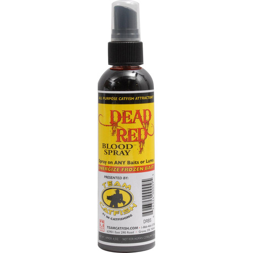 Team Catfish DRBS Dead Blood Spray Bottle Red 4-Ounce