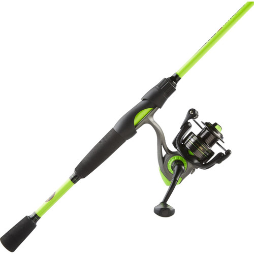 """Lews Hypersonic Speed Spin Spinning Combo 6'6"""" 2pc Med/Power Ambidextrous"""