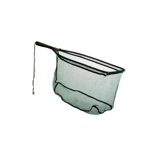 Frabill 9 in x 20 in Rectangle Fixed Rubber Handle Trout Net