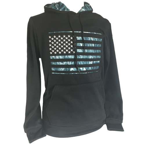 Apparel Con Men's Mossy Oak Flag Sweatshirts