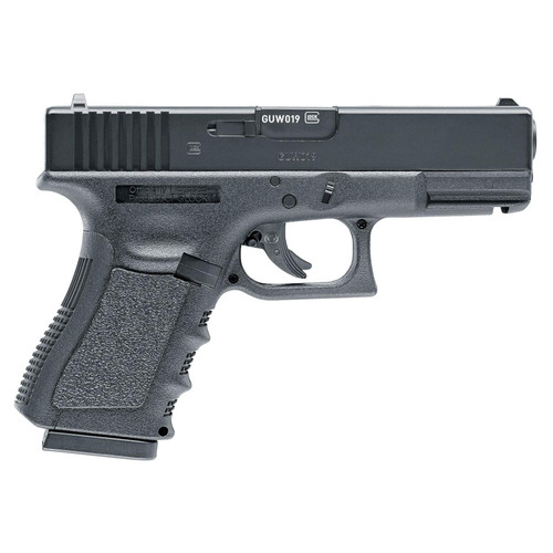 RWS Glock 19 Gen3 CO2 Double .177 BB 16 rd Black Frame Metal Slide Slide