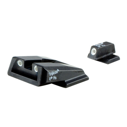 Trijicon Night Sight Set S&W M&P Shield Green Front and Rear Lamps 600714