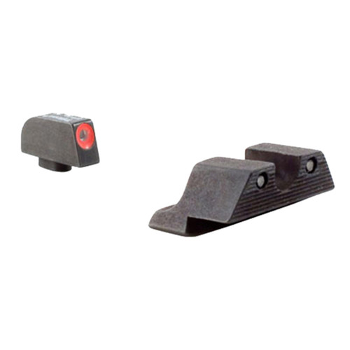 Trijicon 600538 HD Night Sights Tritium/Paint Green w/Orange Outline Front