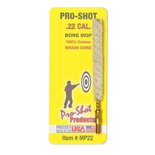 Pro-Shot MP22 Bore Mop .22 Cal Cotton Swab