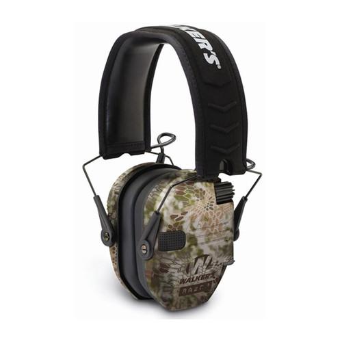 Walker's Game Ear Razor Series Slim Shooter Folding Ear Muff NRR 23dB Kryptek Camo