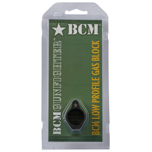 "BCM LGB-750 Gas Block Low Profile .75"" Black Phosphate"