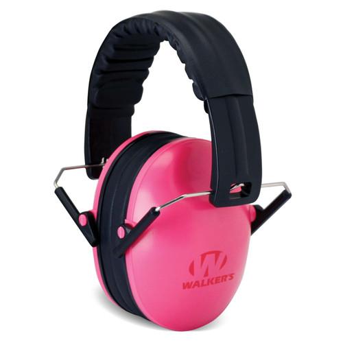 Walkers Passive Baby & Kids Folding Earmuff 22 dB Pink GWPFKDMPK