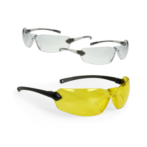 Radians Overlook Glasses Combo Pack - Clear, Amber, Smoke