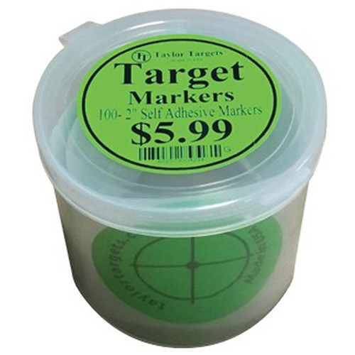 Taylor Targets Green Target Markers