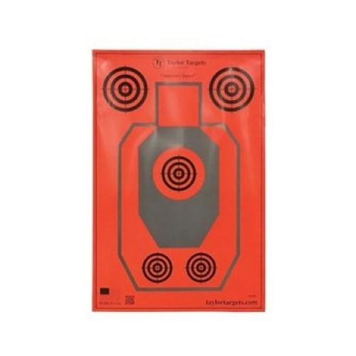 Taylor Targets Pro Series Large Paper Targets 10 Pack