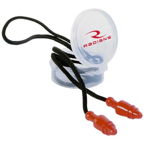 Radians Snug Plugs Earplugs Red/Black JP3150HC