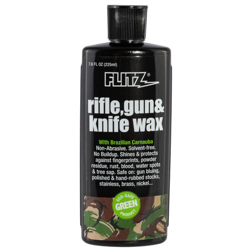 Flitz GW02785X Rifle/Gun/Knfe Wax Carnauba/Beeswax 7.6 oz