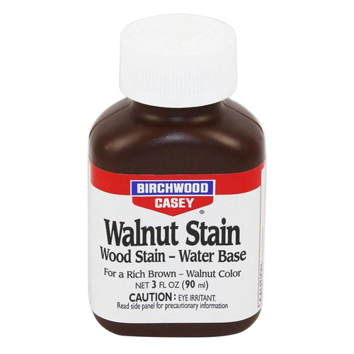 Birchwood Casey 24123 Walnut Water Liquid Stain Walnut Water Liquid Stain 9 oz