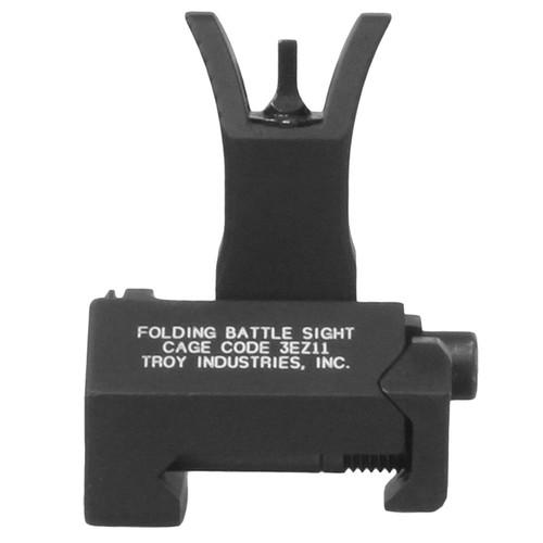 Troy Folding M4 Front Battle Sight Black SSIG-FBS-FMBT-00