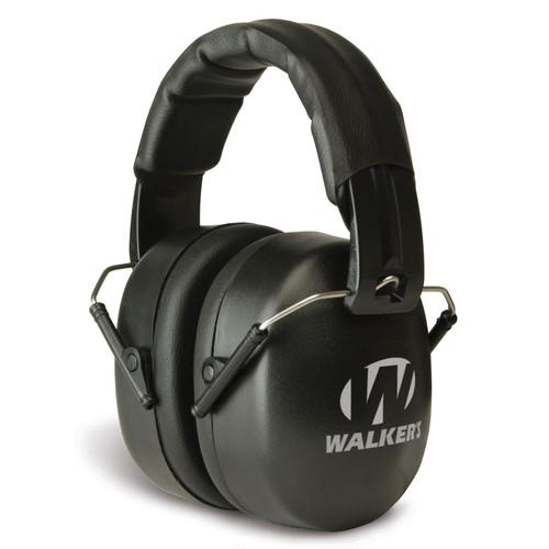 Walkers Passive EXT Range Earmuff Black GWPEXFM3