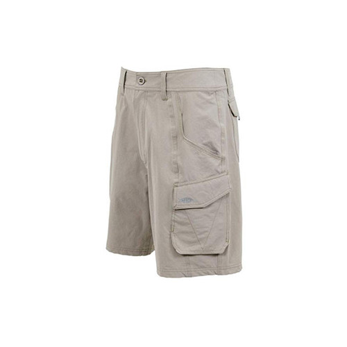 AFTCO Stealth Fishing Shorts Khaki