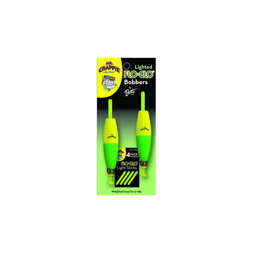 Mr Crappie Lighted Flo Glo Floats