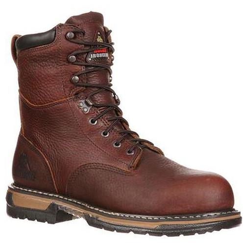 "Rocky Ironclad 8"" Waterproof Work Boots"